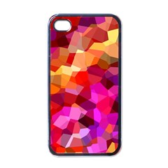 Geometric Fall Pattern Apple Iphone 4 Case (black)