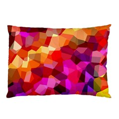 Geometric Fall Pattern Pillow Case (two Sides) by DanaeStudio