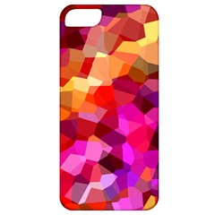 Geometric Fall Pattern Apple Iphone 5 Classic Hardshell Case by DanaeStudio