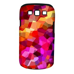 Geometric Fall Pattern Samsung Galaxy S Iii Classic Hardshell Case (pc+silicone) by DanaeStudio