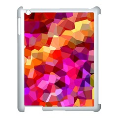 Geometric Fall Pattern Apple Ipad 3/4 Case (white)