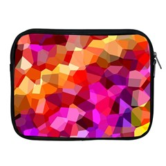 Geometric Fall Pattern Apple Ipad 2/3/4 Zipper Cases by DanaeStudio