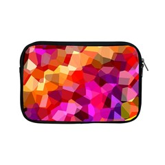 Geometric Fall Pattern Apple Ipad Mini Zipper Cases by DanaeStudio