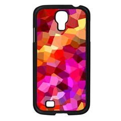 Geometric Fall Pattern Samsung Galaxy S4 I9500/ I9505 Case (black)