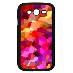 Geometric Fall Pattern Samsung Galaxy Grand Duos I9082 Case (black) by DanaeStudio