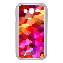 Geometric Fall Pattern Samsung Galaxy Grand Duos I9082 Case (white)