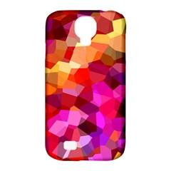 Geometric Fall Pattern Samsung Galaxy S4 Classic Hardshell Case (pc+silicone)
