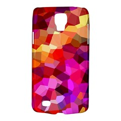 Geometric Fall Pattern Galaxy S4 Active by DanaeStudio