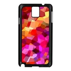 Geometric Fall Pattern Samsung Galaxy Note 3 N9005 Case (black)