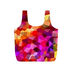 Geometric Fall Pattern Full Print Recycle Bags (s)