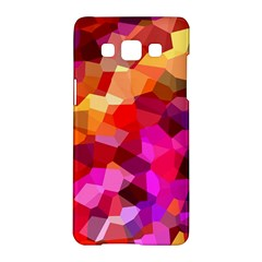 Geometric Fall Pattern Samsung Galaxy A5 Hardshell Case  by DanaeStudio