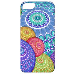 India Ornaments Mandala Balls Multicolored Apple Iphone 5 Classic Hardshell Case by EDDArt