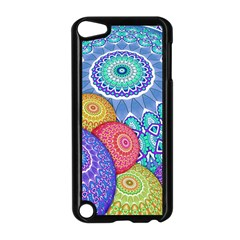 India Ornaments Mandala Balls Multicolored Apple Ipod Touch 5 Case (black) by EDDArt