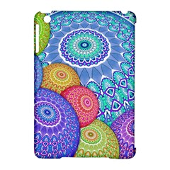 India Ornaments Mandala Balls Multicolored Apple Ipad Mini Hardshell Case (compatible With Smart Cover) by EDDArt