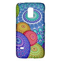 India Ornaments Mandala Balls Multicolored Galaxy S5 Mini by EDDArt