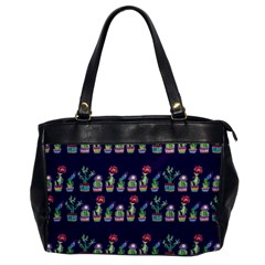 Cute Cactus Blossom Office Handbags