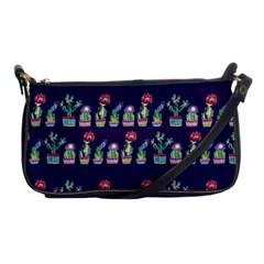 Cute Cactus Blossom Shoulder Clutch Bags