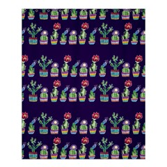 Cute Cactus Blossom Shower Curtain 60  X 72  (medium)