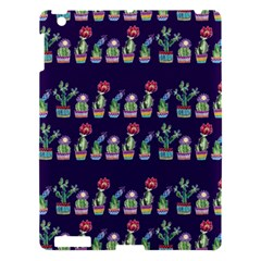 Cute Cactus Blossom Apple Ipad 3/4 Hardshell Case