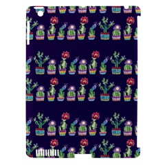 Cute Cactus Blossom Apple Ipad 3/4 Hardshell Case (compatible With Smart Cover) by DanaeStudio
