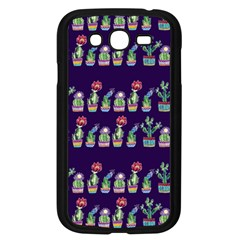 Cute Cactus Blossom Samsung Galaxy Grand Duos I9082 Case (black) by DanaeStudio