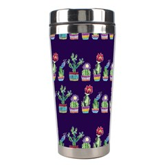 Cute Cactus Blossom Stainless Steel Travel Tumblers