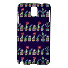 Cute Cactus Blossom Samsung Galaxy Note 3 N9005 Hardshell Case by DanaeStudio
