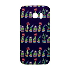 Cute Cactus Blossom Galaxy S6 Edge