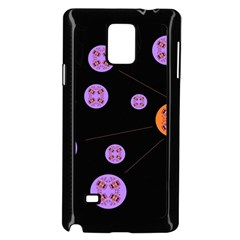 Alphabet Shirtjhjervbret (2)fvgbgnh Samsung Galaxy Note 4 Case (Black)