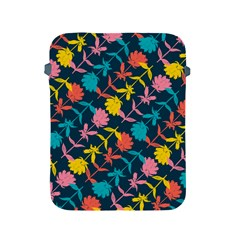 Colorful Floral Pattern Apple Ipad 2/3/4 Protective Soft Cases by DanaeStudio