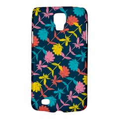 Colorful Floral Pattern Galaxy S4 Active by DanaeStudio