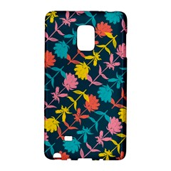Colorful Floral Pattern Galaxy Note Edge by DanaeStudio