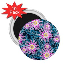 Whimsical Garden 2 25  Magnets (10 Pack)  by DanaeStudio