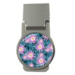 Whimsical Garden Money Clips (Round)  Front
