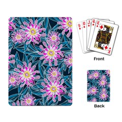 Whimsical Garden Playing Card by DanaeStudio