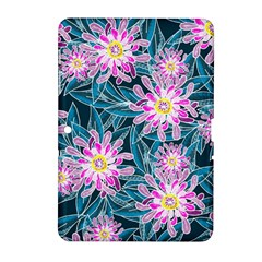 Whimsical Garden Samsung Galaxy Tab 2 (10 1 ) P5100 Hardshell Case  by DanaeStudio