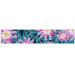 Whimsical Garden Flano Scarf (large)  by DanaeStudio