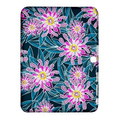 Whimsical Garden Samsung Galaxy Tab 4 (10 1 ) Hardshell Case  by DanaeStudio