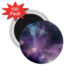 Blue Galaxy  2 25  Magnets (100 Pack)  by DanaeStudio