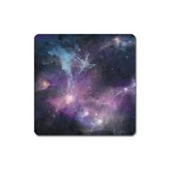 Blue Galaxy  Square Magnet by DanaeStudio
