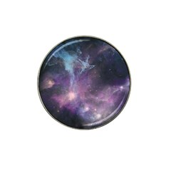 Blue Galaxy  Hat Clip Ball Marker (4 Pack) by DanaeStudio