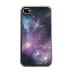 Blue Galaxy  Apple Iphone 4 Case (clear) by DanaeStudio