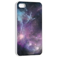 Blue Galaxy  Apple Iphone 4/4s Seamless Case (white) by DanaeStudio