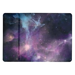 Blue Galaxy  Samsung Galaxy Tab 10 1  P7500 Flip Case by DanaeStudio