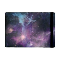 Blue Galaxy  Ipad Mini 2 Flip Cases by DanaeStudio