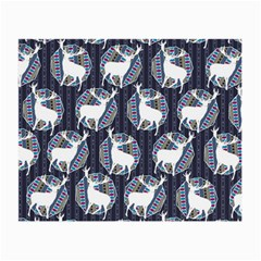 Geometric Deer Retro Pattern Small Glasses Cloth by DanaeStudio