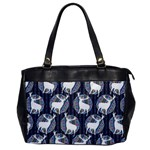 Geometric Deer Retro Pattern Office Handbags Front