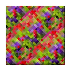 Colorful Mosaic Tile Coasters by DanaeStudio