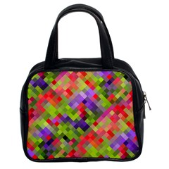 Colorful Mosaic Classic Handbags (2 Sides) by DanaeStudio