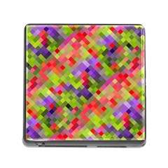 Colorful Mosaic Memory Card Reader (square) by DanaeStudio